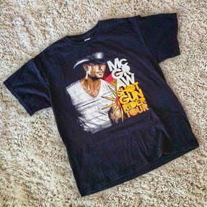 Tim McGraw Shotgun Rider Tour Shirt Houston Rodeo